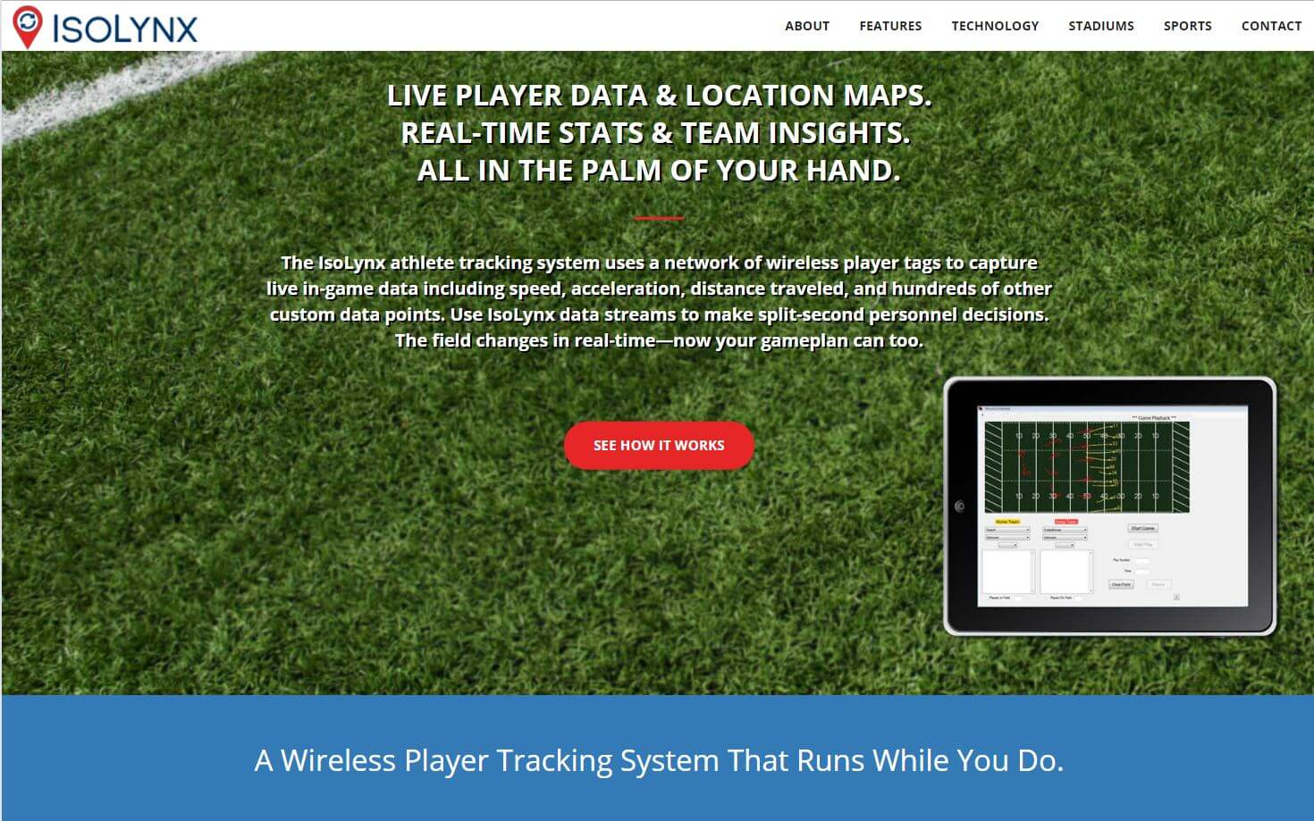 IsoLynx sports tracking website